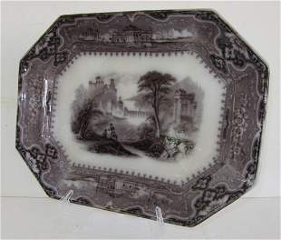 Mulberry style platter