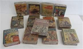 20: Lot of Lone Ranger mini books