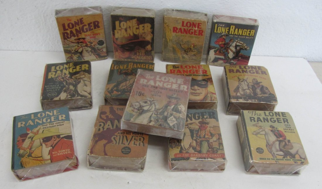 20: Lot of Lone Ranger mini books