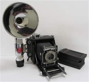 Speed Graphic camera with Kodak lens
