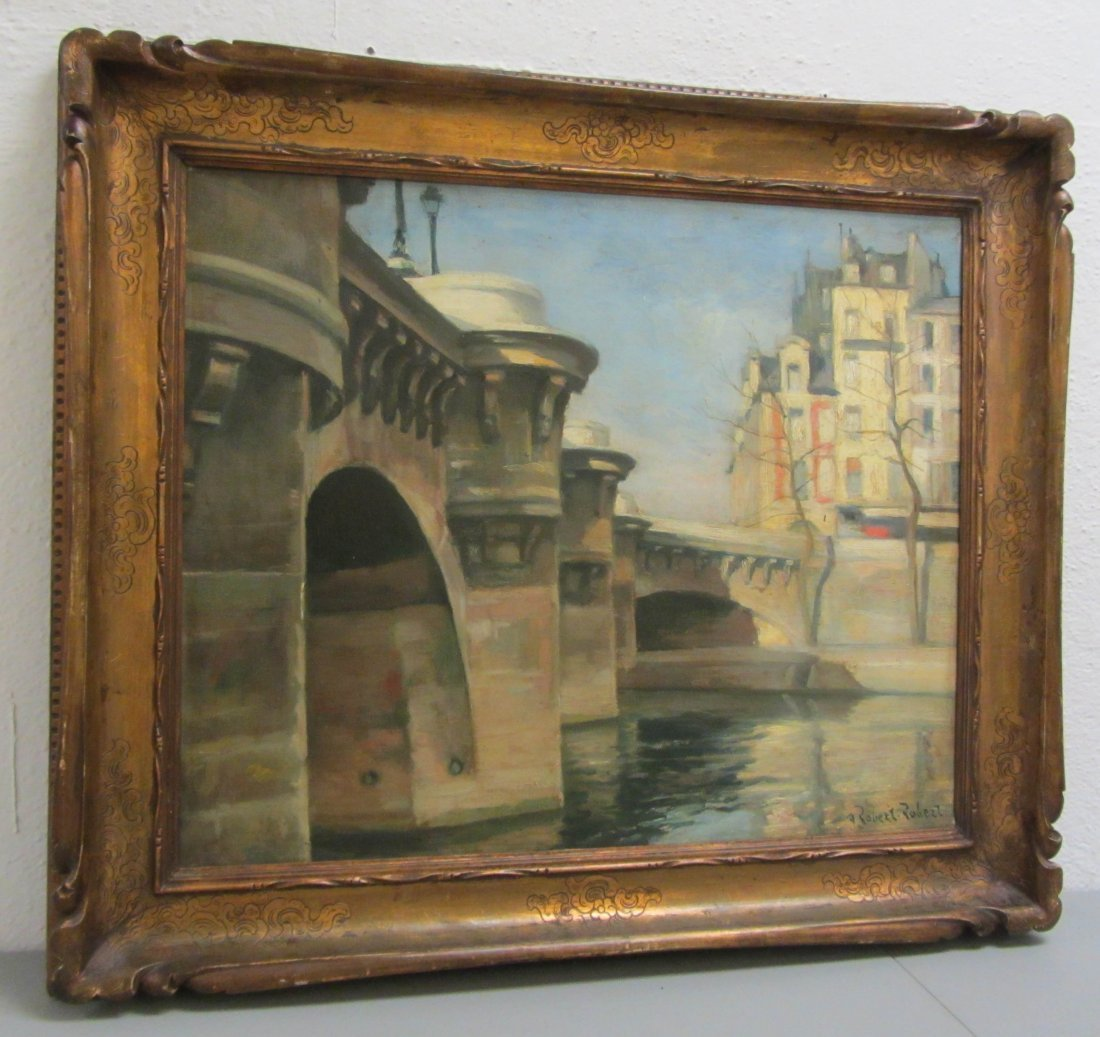 183: Ea. 20th C. Painting signed A. Robert