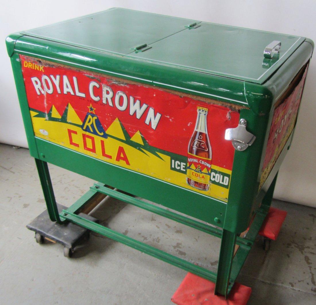 C1900 Original Royal Crown soda cooler