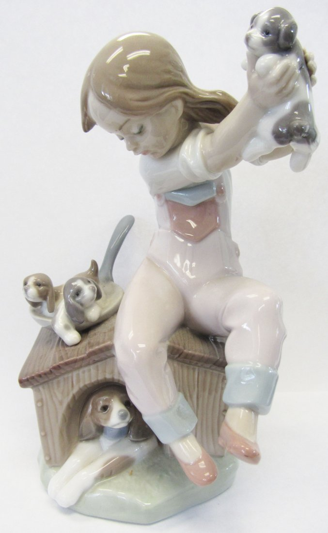 "Original Lladro ""Pick of the Litter"""