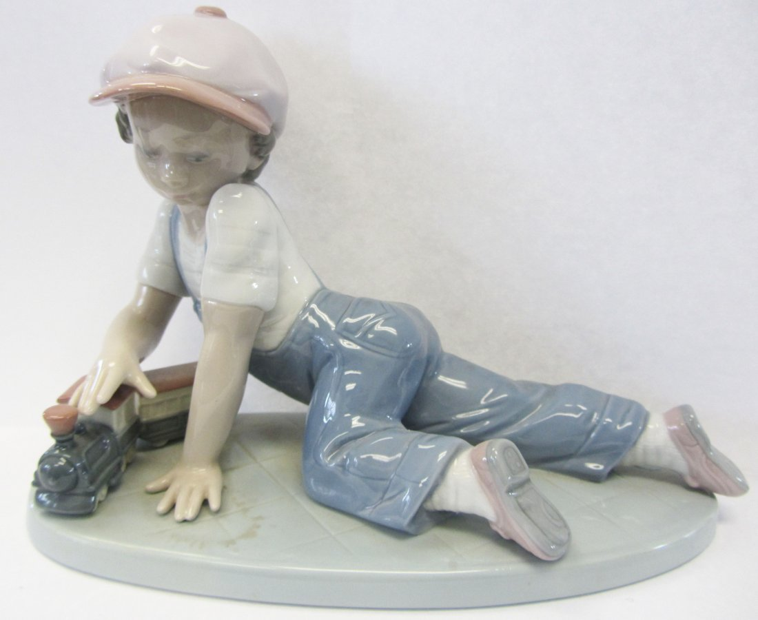 "Original Lladro ""All Aboard"""