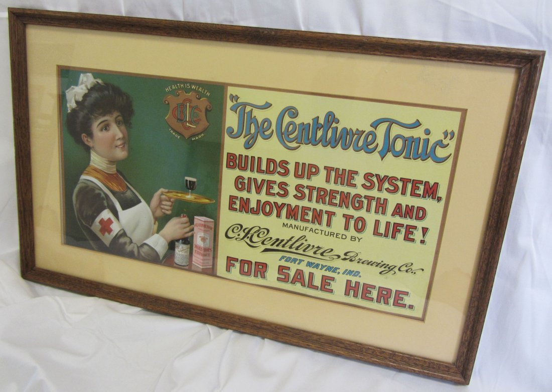 Original Antique Tonic advertisment