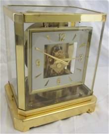 Rare 1960-1980s Swiss Atmos LeCoultre Clock