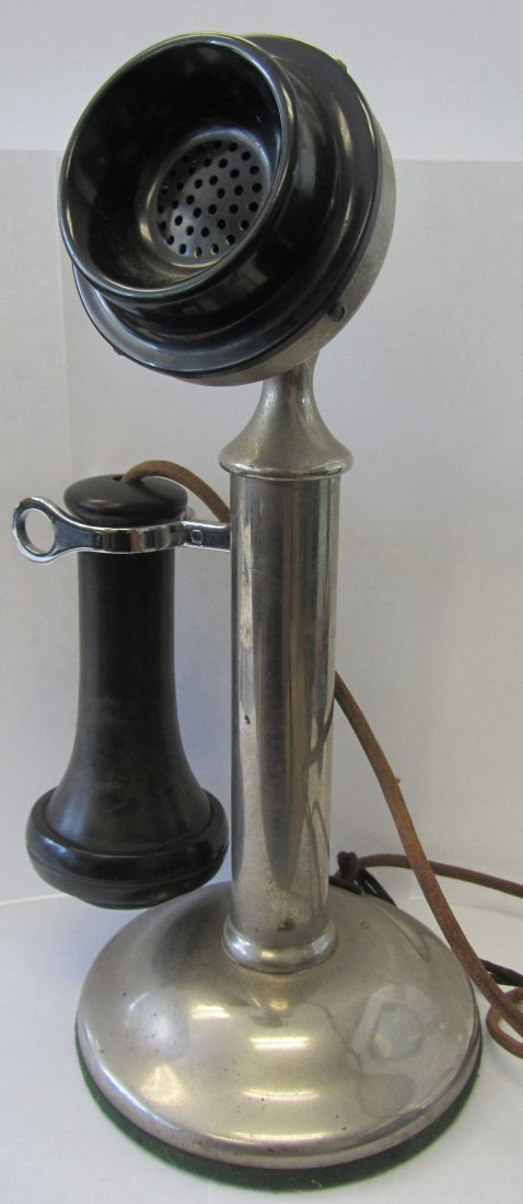 C1904 Western Electric candle stick phone