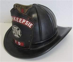 Original Poughkeepsie, NY fire helmet