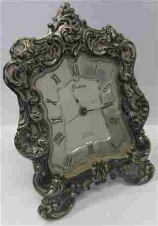 Ea. 20th C. Sterling silver Gorham desk clock