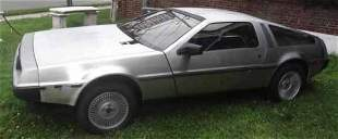 1981 Vintage DeLorean with 29,000 miles