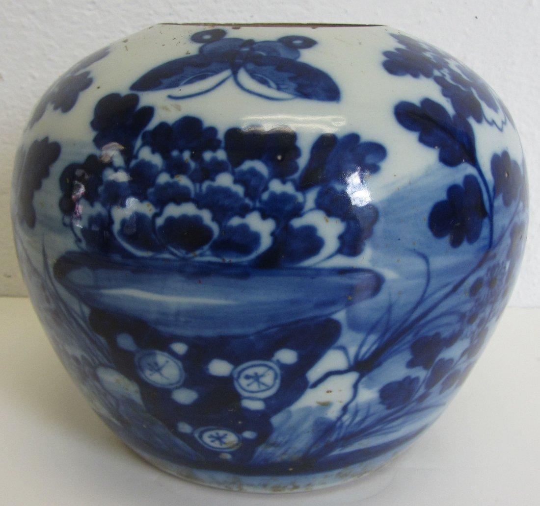 Ea. 19th C. Chinese ginger jar