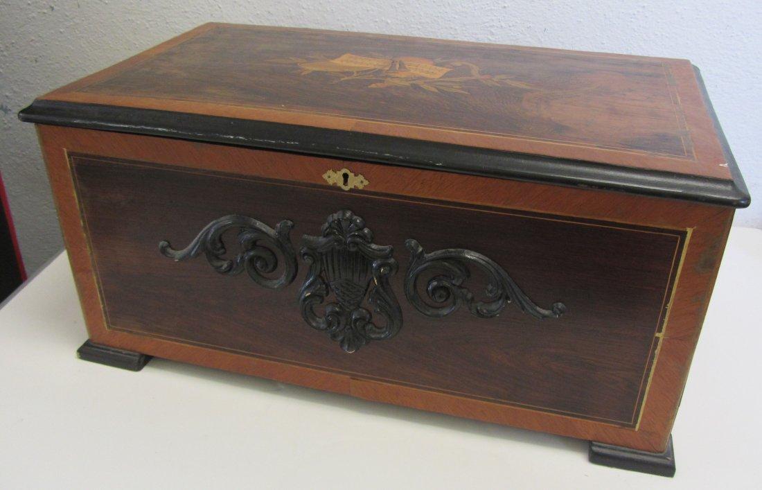 Large 19th C. Swiss made music box