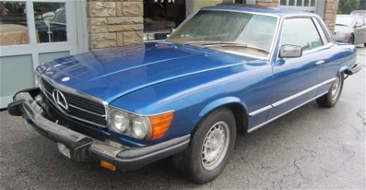 1978 Mercedes Benz 450 SLC, VERY CLEAN