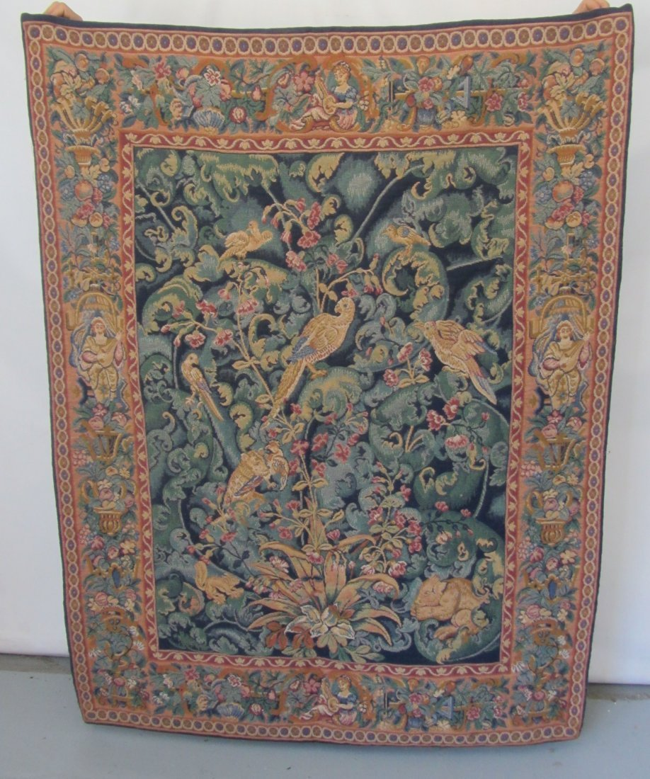 Ea. 20th C. Tapestry with birds
