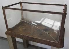 19th C. Cast iron Terrarium attributed to Fiske