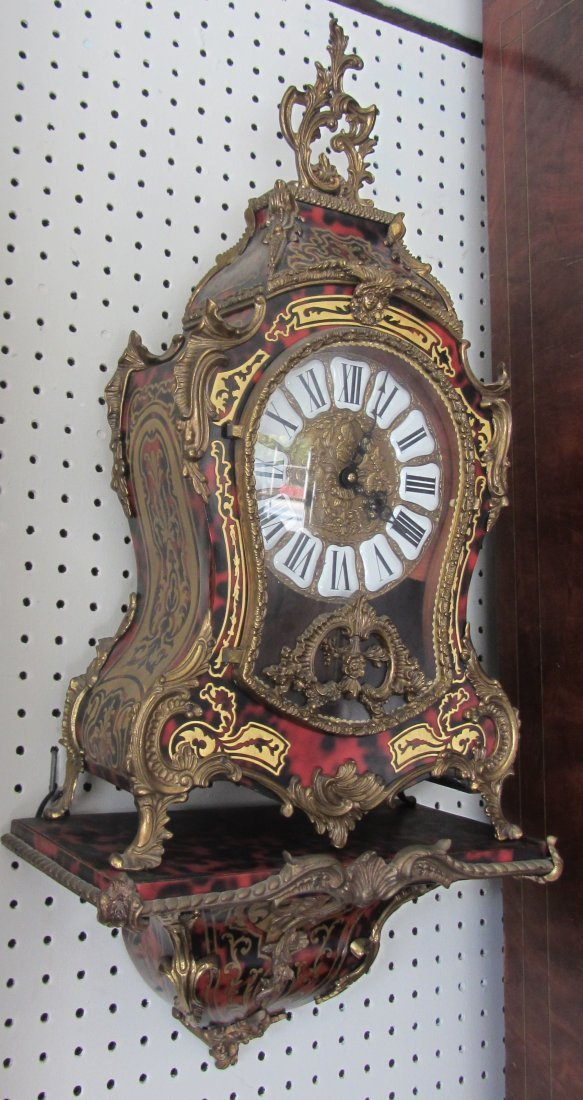 C1900 2 Piece Boulle wall clock