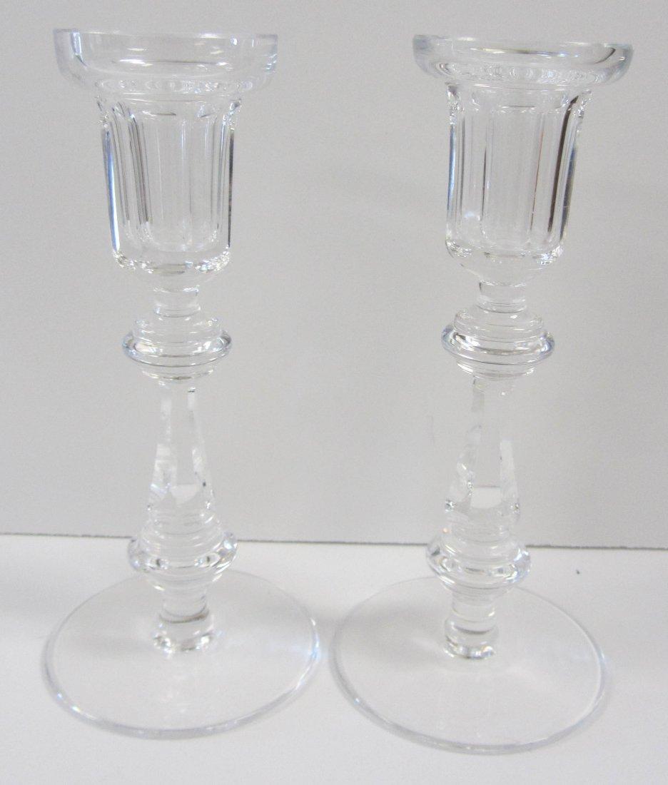 Pr. Waterford crystal candlesticks