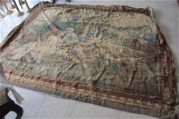 Tapestry wall hanger dated 1760 and signed