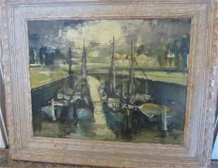 Fine Quality French style impressionist painting