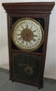 American calendar regulator clock