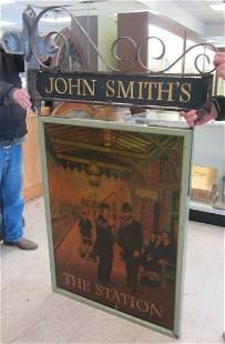C1900 Rare English John Smiths trade sign