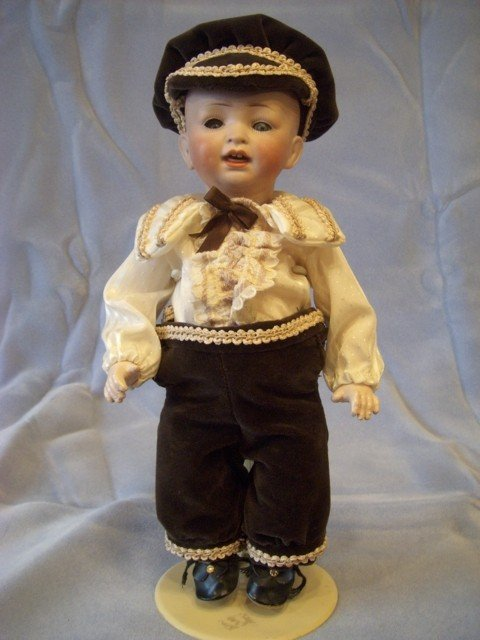 "018: 13"" Hertel Schwab & Co. Boy Doll"