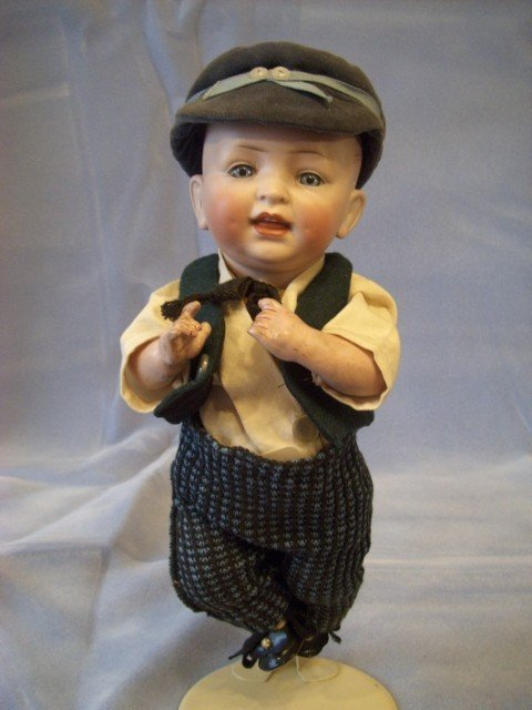 "019: 12"" Hertel Schwab & Co. Boy Doll"