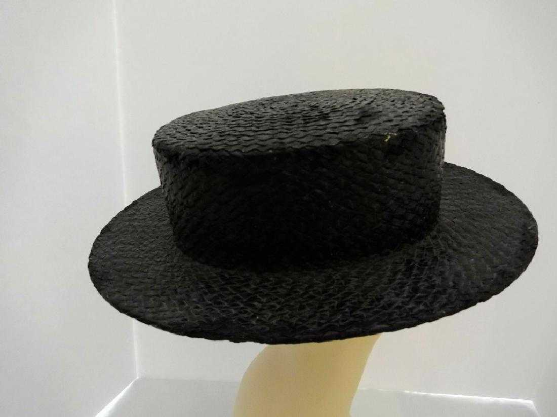 443b98f5fd93e Men s Vintage Straw Boater Hat