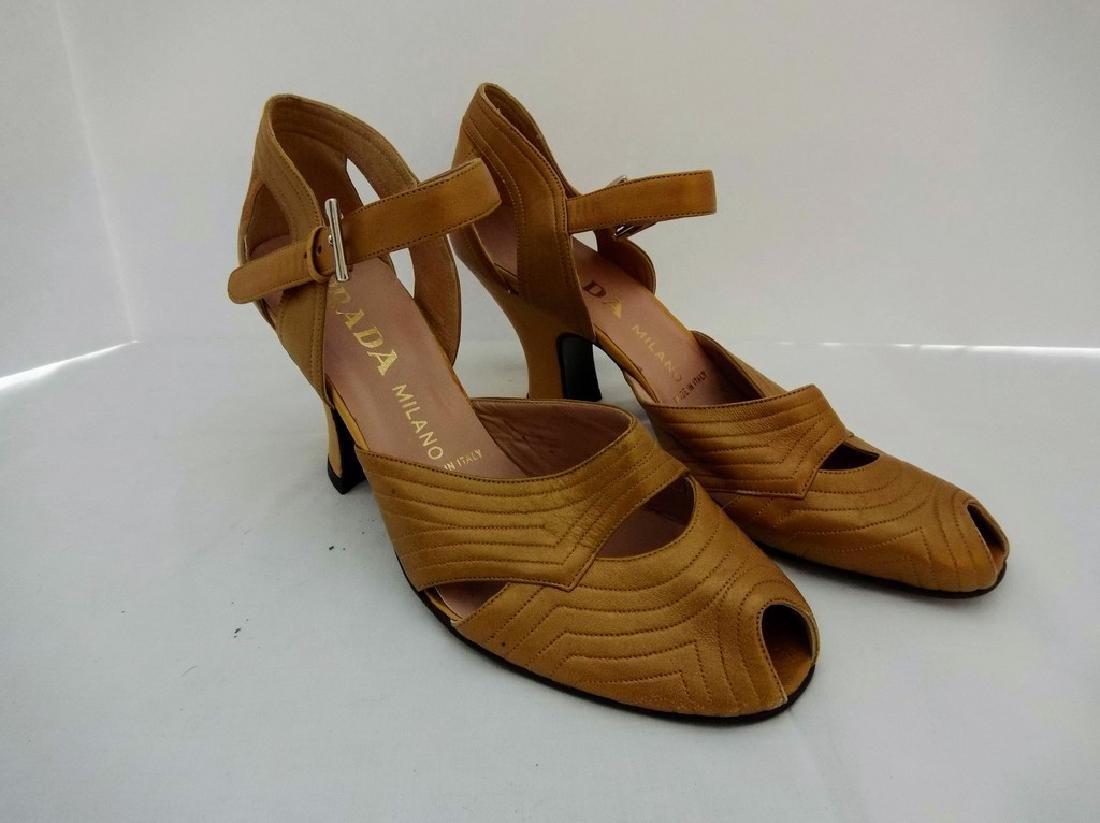 "Woman's Vintage ""Prada"" Sandals size 9 1/2"