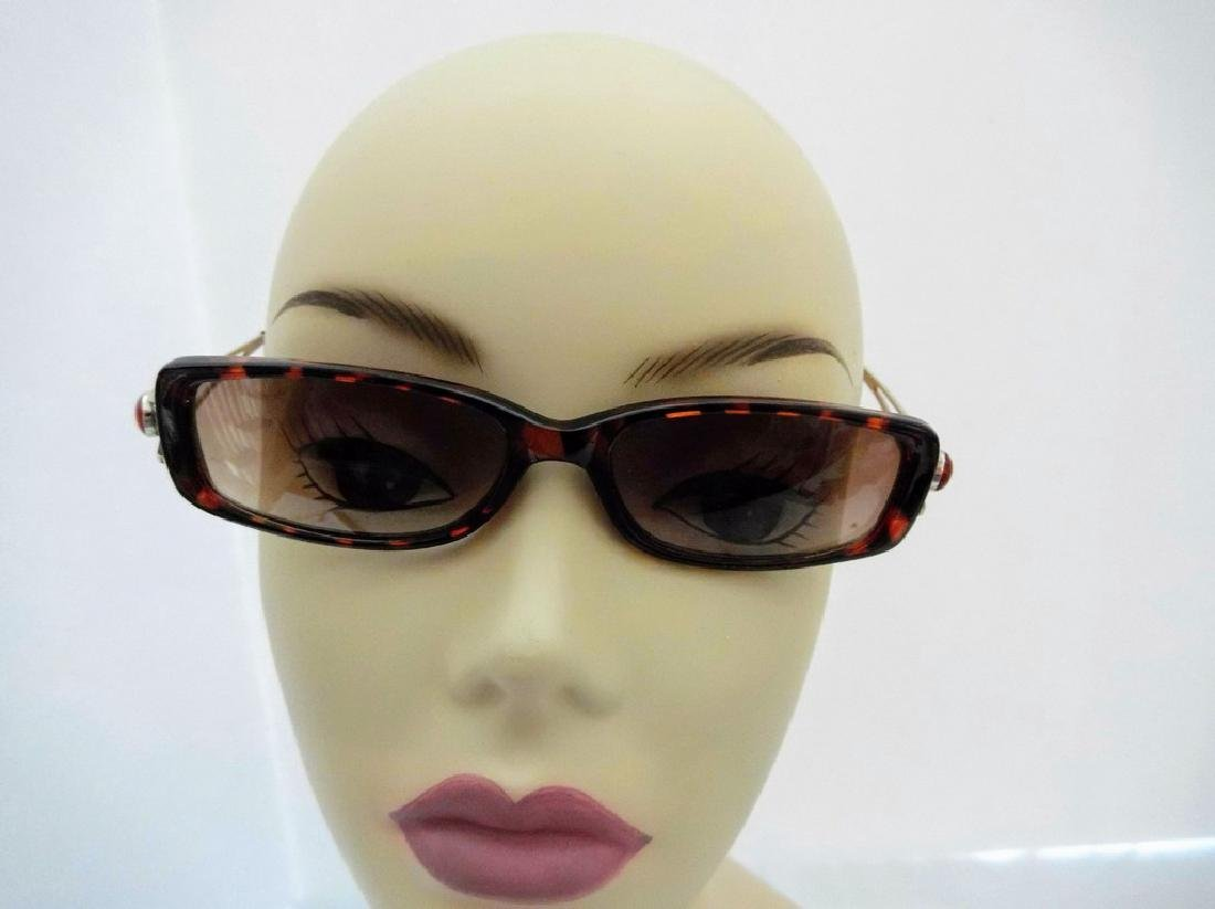 Vintage 1970's gold wire arm Sunglasses, China 64284