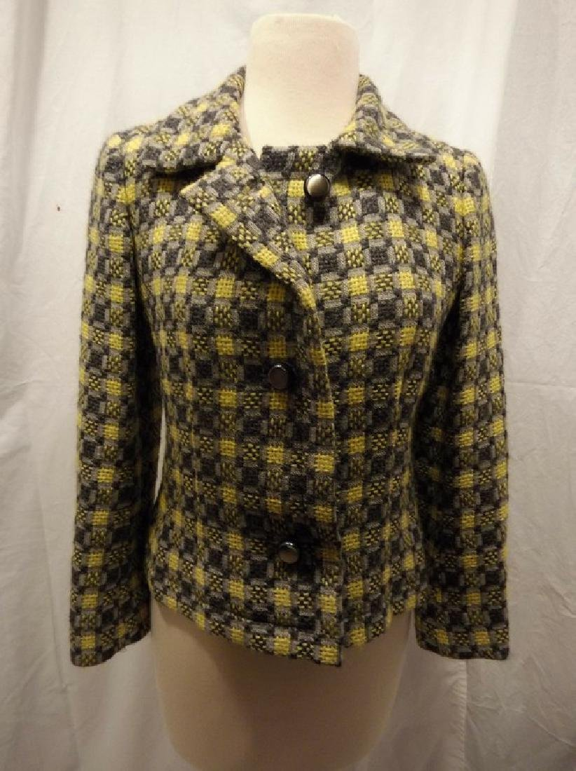 Vintage 1960's Givenchy Nouvelle Boutique Wool Jacket,