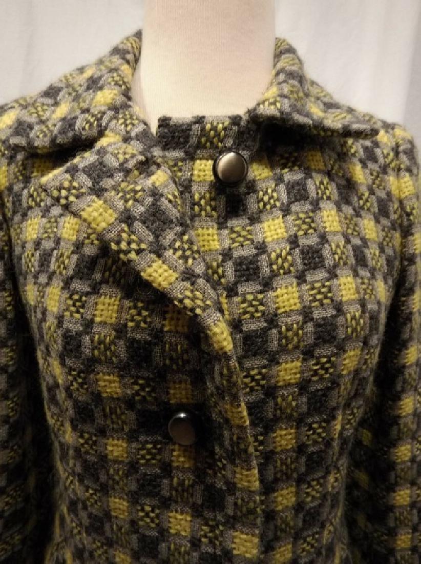 Vintage 1960's Givenchy Nouvelle Boutique Wool Jacket, - 2