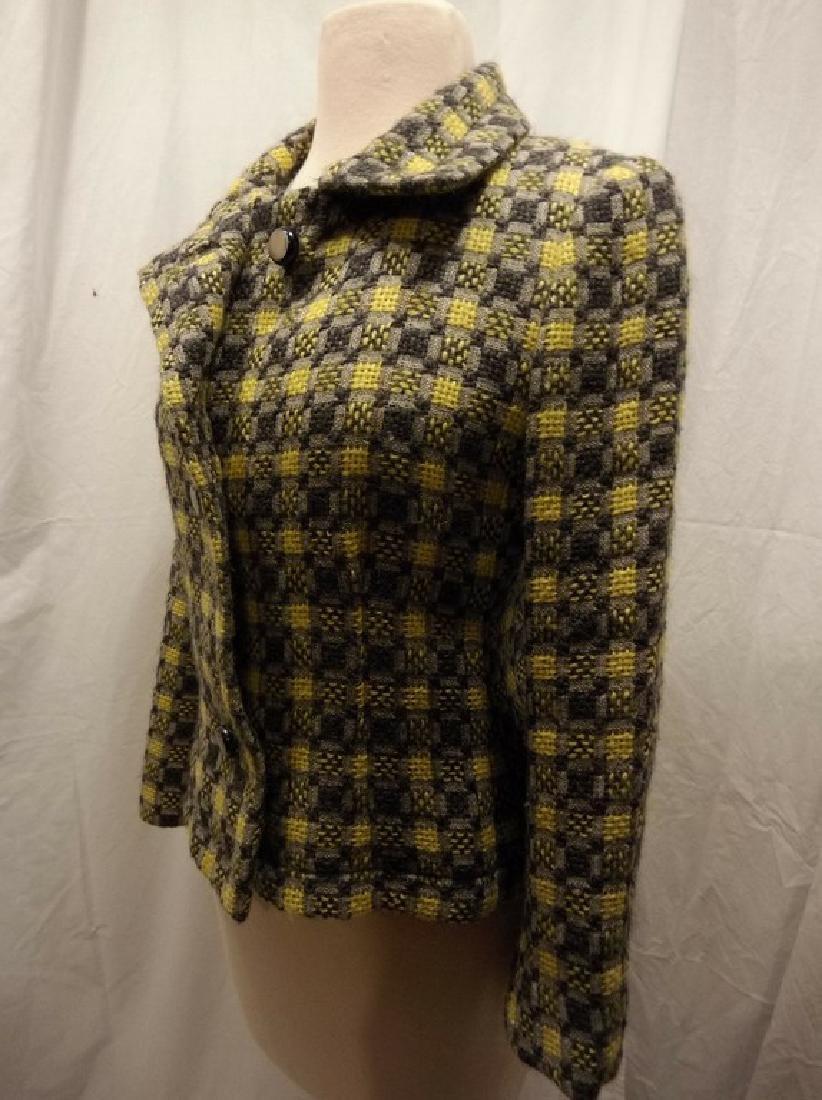 Vintage 1960's Givenchy Nouvelle Boutique Wool Jacket, - 3
