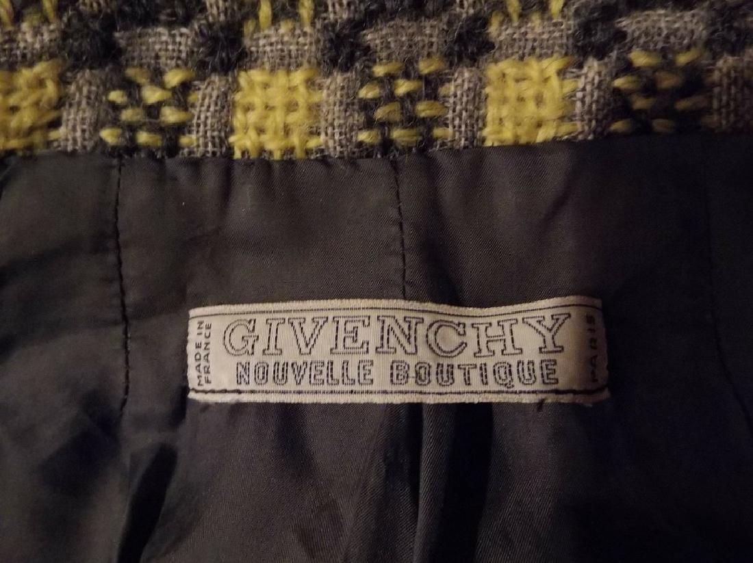 Vintage 1960's Givenchy Nouvelle Boutique Wool Jacket, - 5
