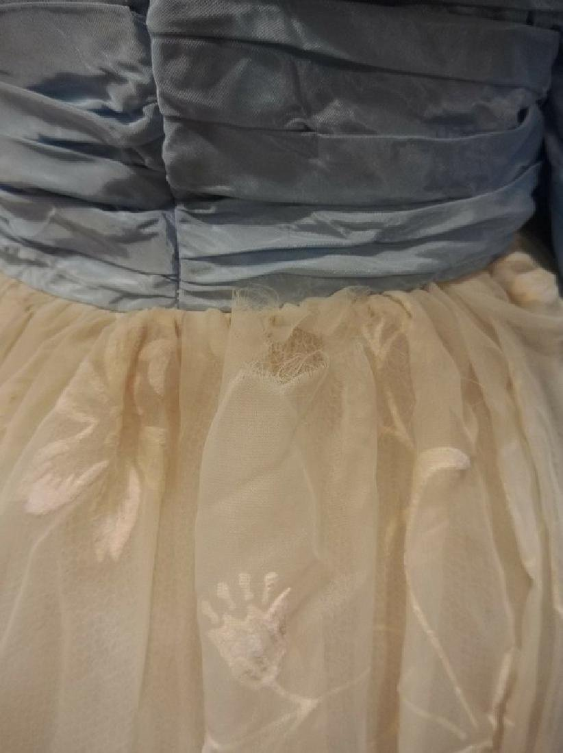1950/60's Princess Prom Dress with Spaghetti Straps - 5