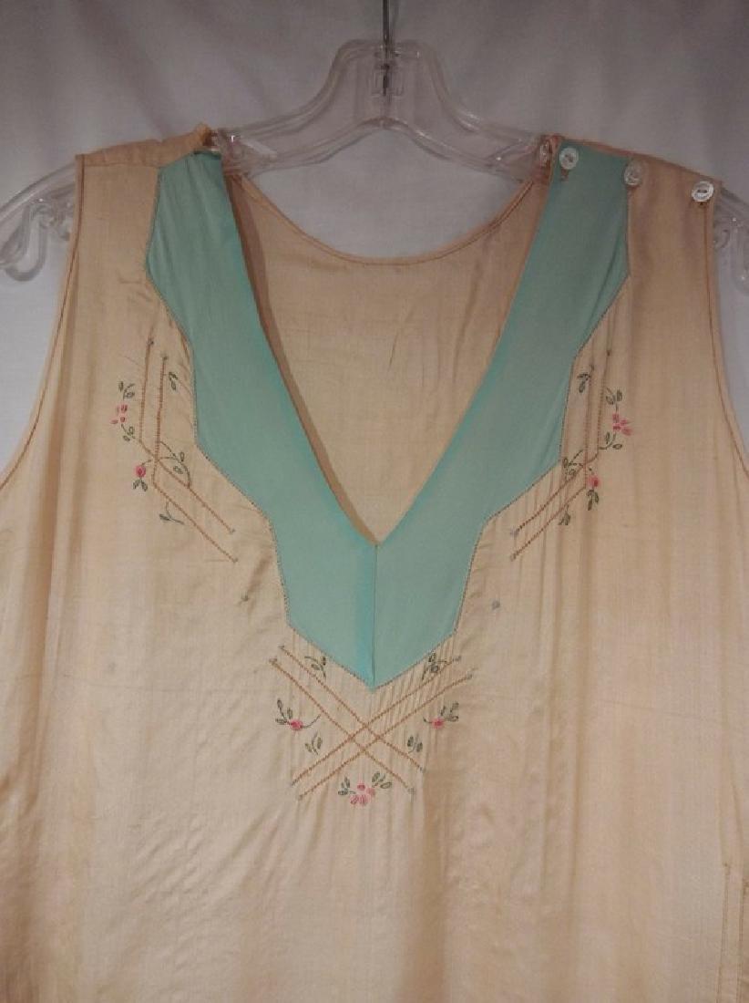 1930's Silk 1 piece Lounge/ Pajama outfit - 2
