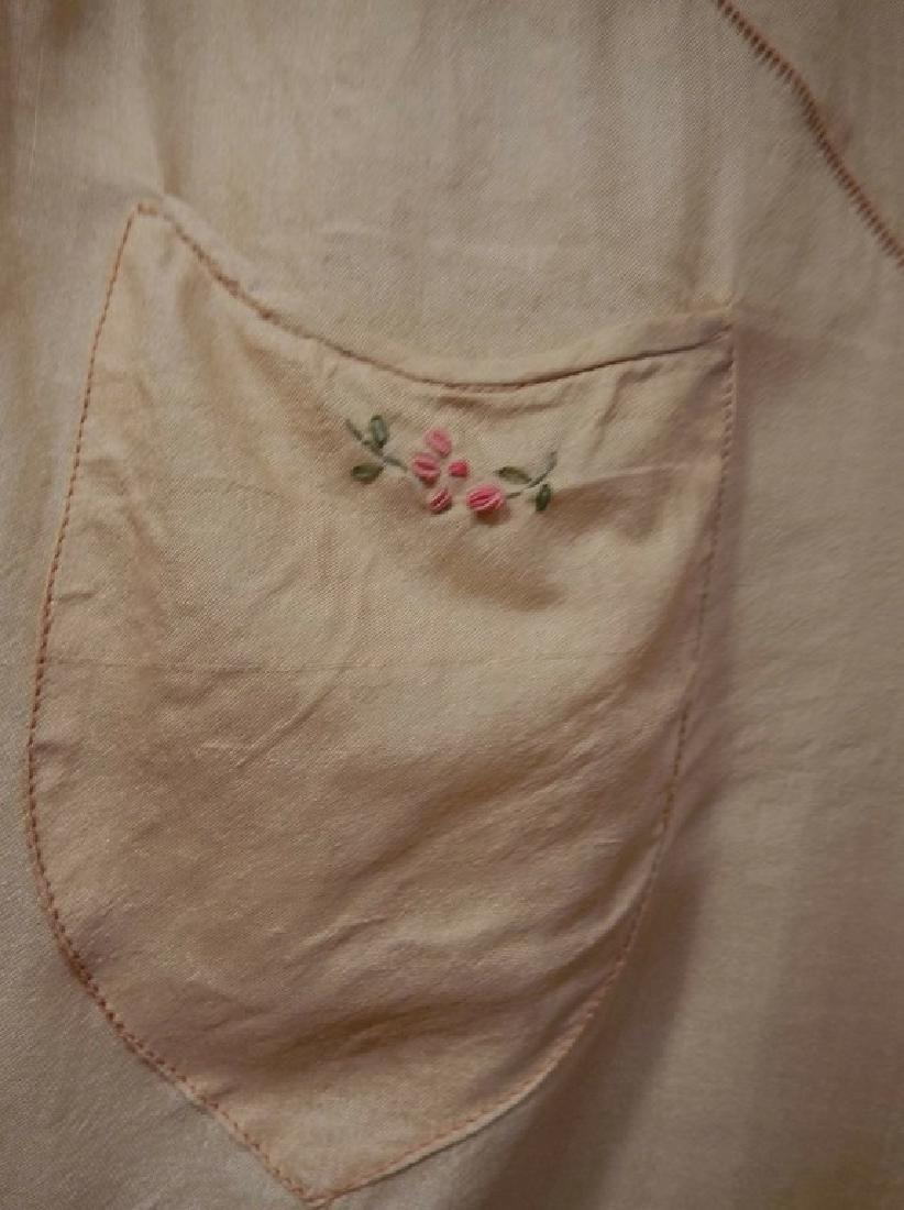 1930's Silk 1 piece Lounge/ Pajama outfit - 3
