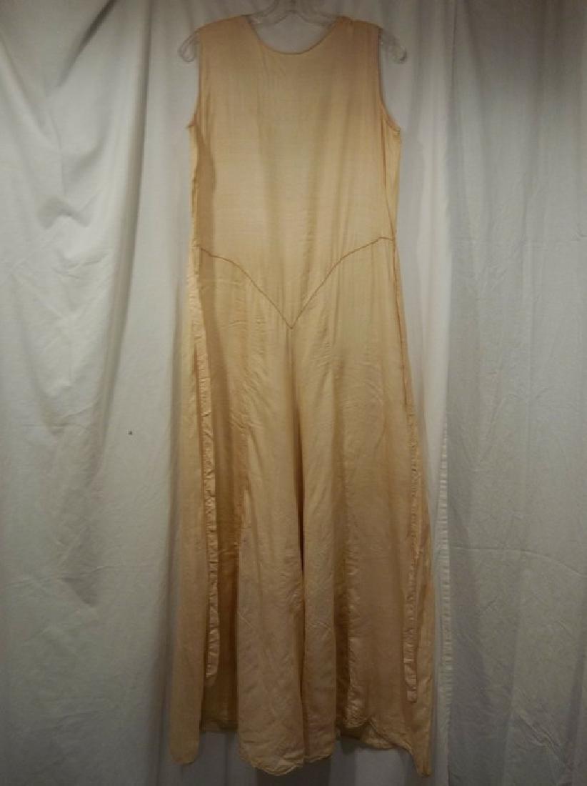 1930's Silk 1 piece Lounge/ Pajama outfit - 5