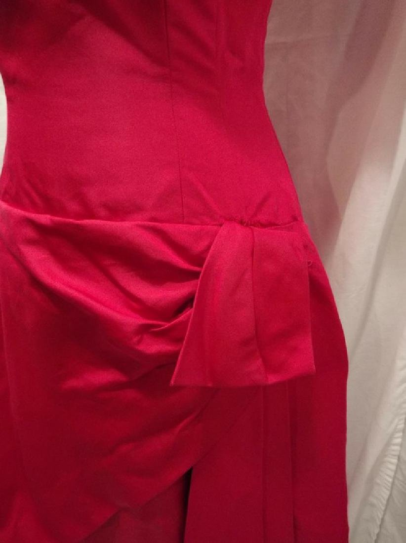 1960's Fuchsia Pink Cocktail Party Dress by Estevez - 3