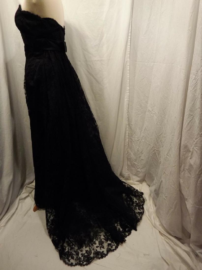 """Stunning Ladies 1960's Vintage """"Estevez"""" Black Lace - 6"""