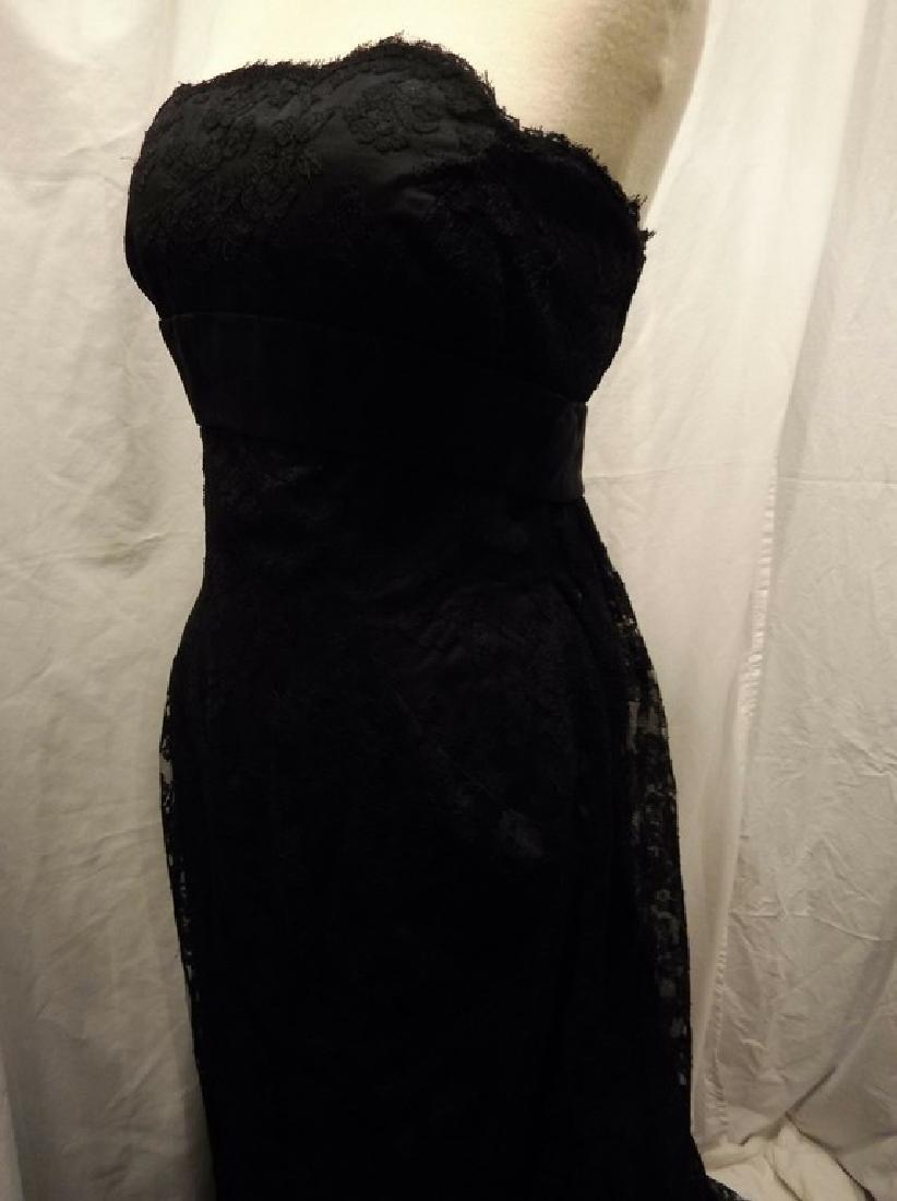 """Stunning Ladies 1960's Vintage """"Estevez"""" Black Lace - 8"""