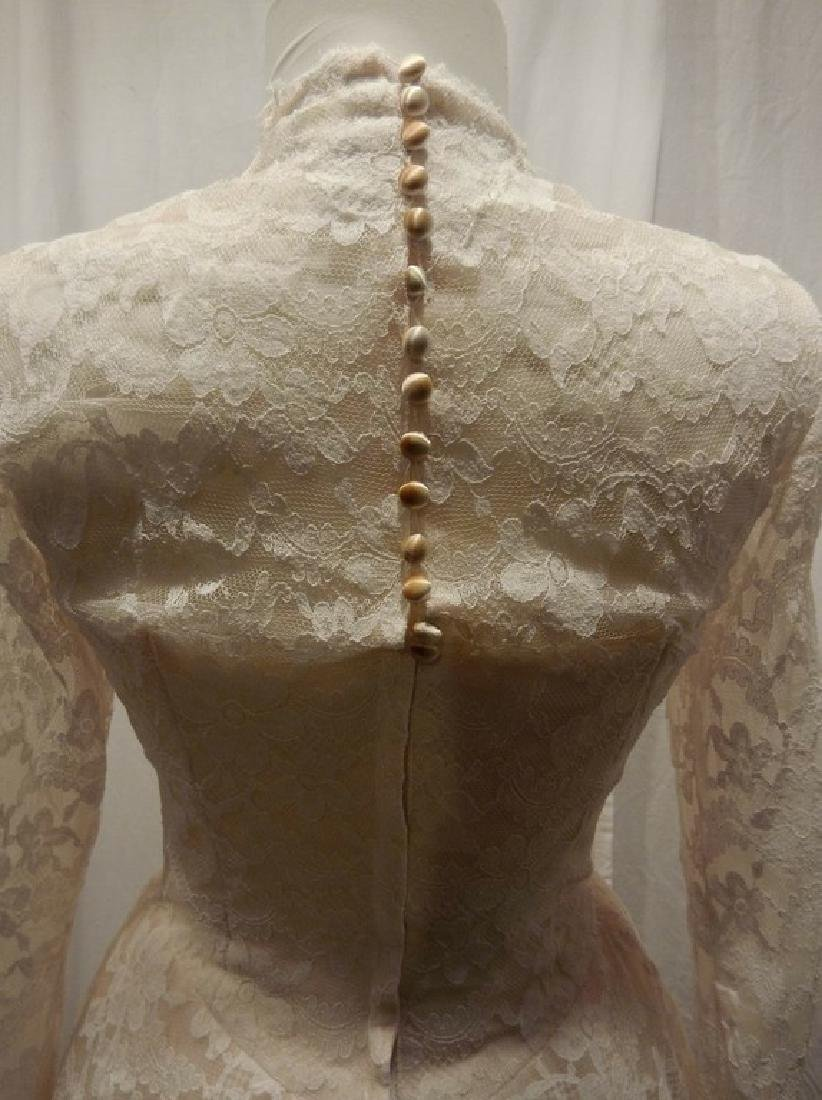 Beautiful Ladies 1950's Vintage pale Pink Tulle & Lace - 5