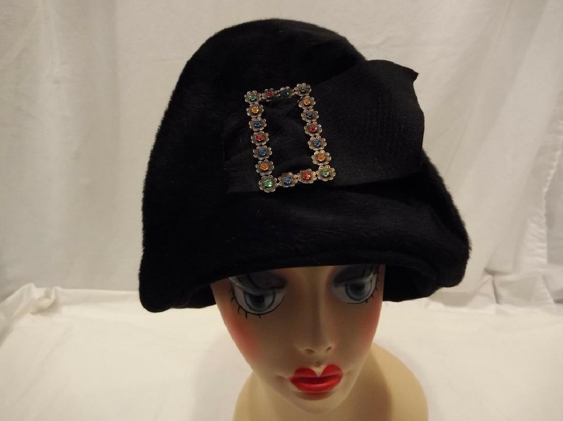 Ladies Vintage Hat by Modello's, circa 1930 - 2