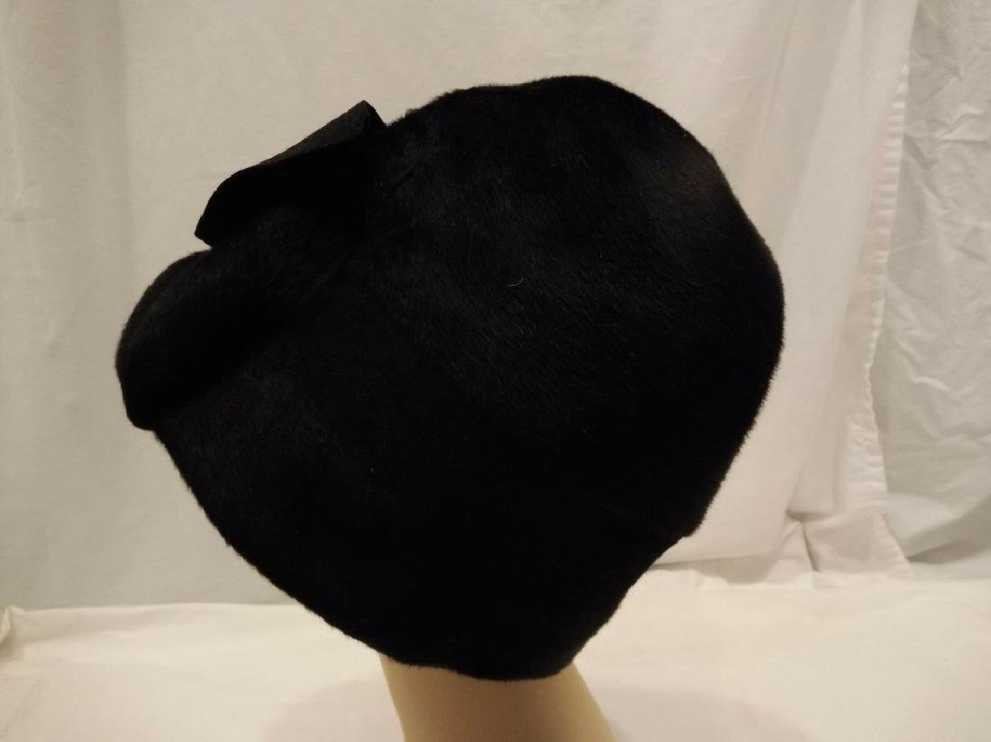 Ladies Vintage Hat by Modello's, circa 1930 - 4