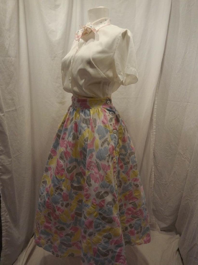 1950/60 Vintage Skirt & Top, skirt by Star of India - 5