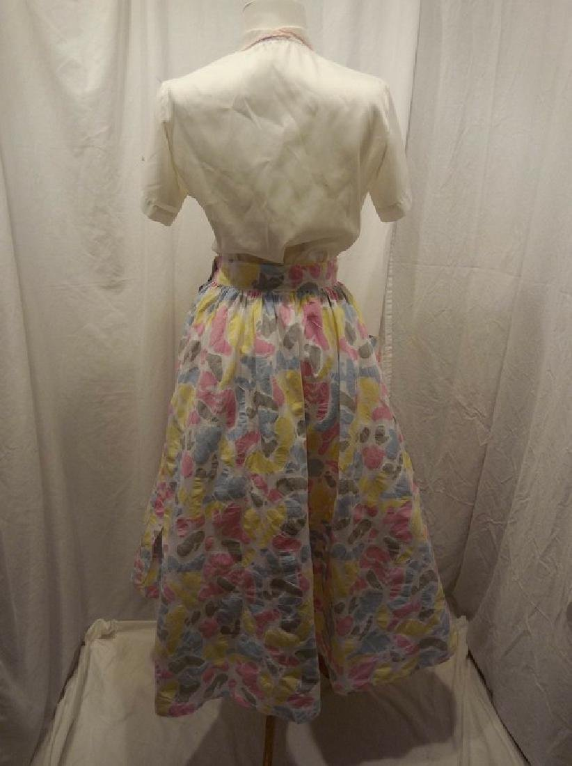 1950/60 Vintage Skirt & Top, skirt by Star of India - 6