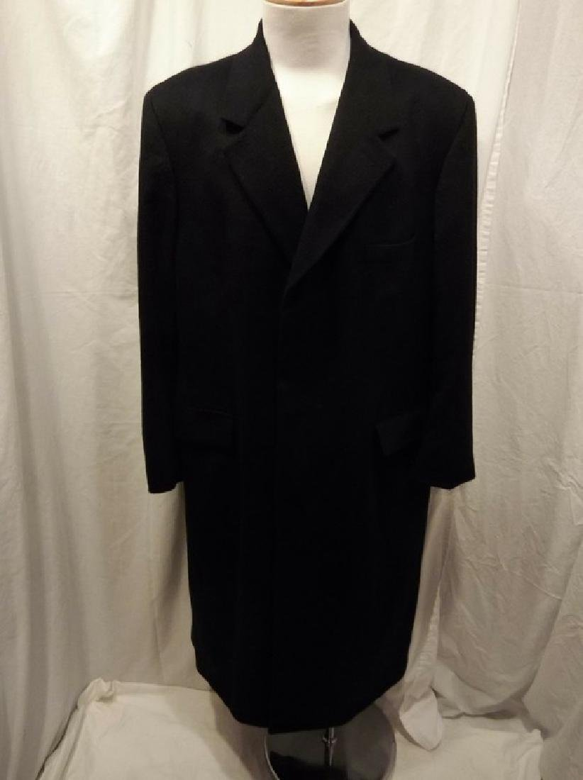 Men's 1998 Brooks Brothers 100% Cashmere Over Coat,