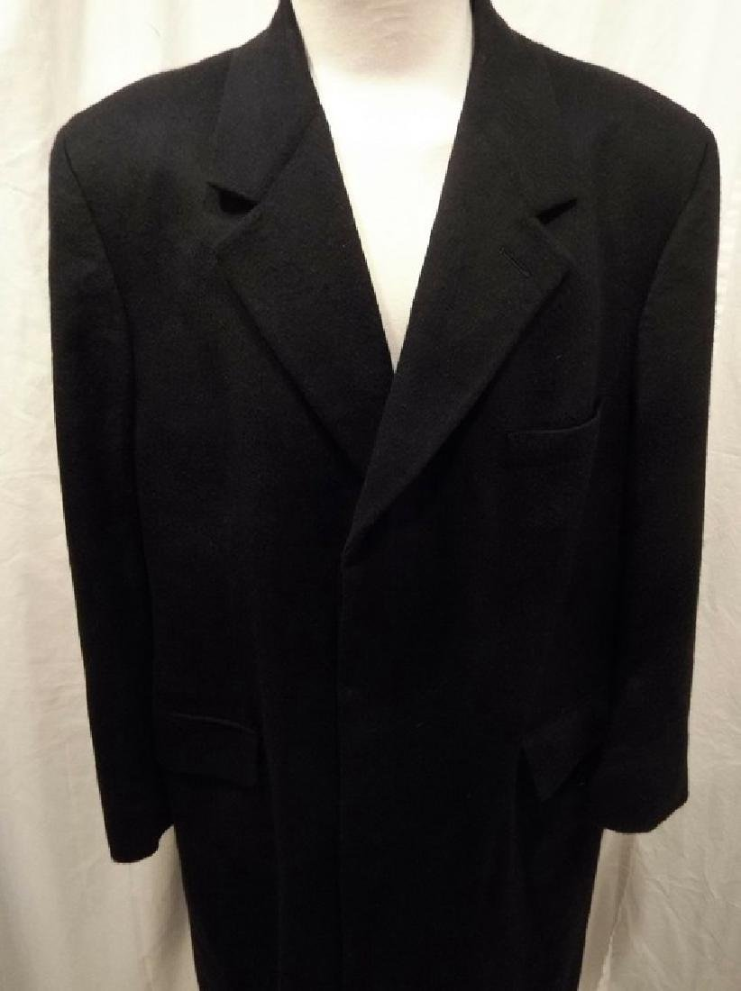 Men's 1998 Brooks Brothers 100% Cashmere Over Coat, - 2