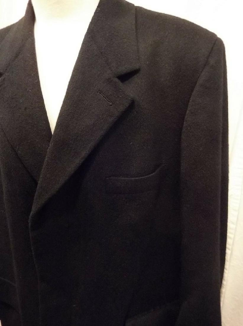 Men's 1998 Brooks Brothers 100% Cashmere Over Coat, - 3