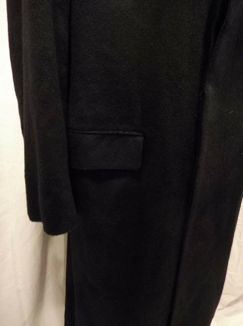 Men's 1998 Brooks Brothers 100% Cashmere Over Coat, - 4